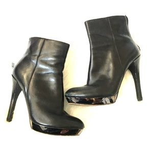 MICHAEL Michael Kors Black Leather Heeled Boots